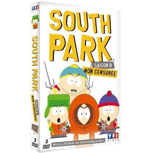 dvd coffret south park saison 8 en dvd film pas cher. Black Bedroom Furniture Sets. Home Design Ideas