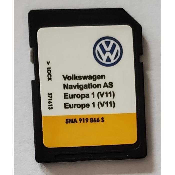 Carte SD Europe - Navigation AS - Volkswagen VW Discover Media 2 MIB2 - v11 - 5NA919866