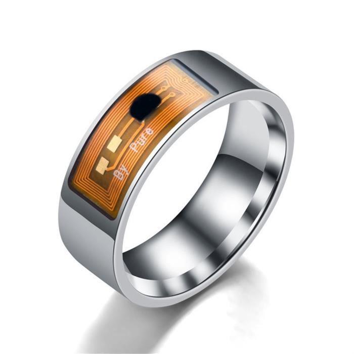 Anneau intelligent étanche multifonctionnel NFC anneau numérique de doigt d'usure intelligente_YS1316