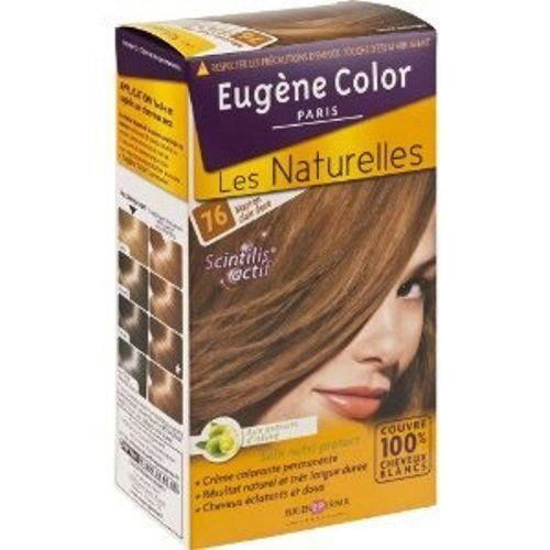 EUGENE COLOR Coloration N76 Marron Claire Doré