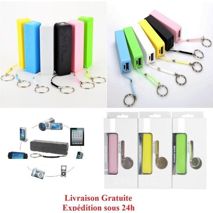 batterie externe power bank ipad iphone samsung et