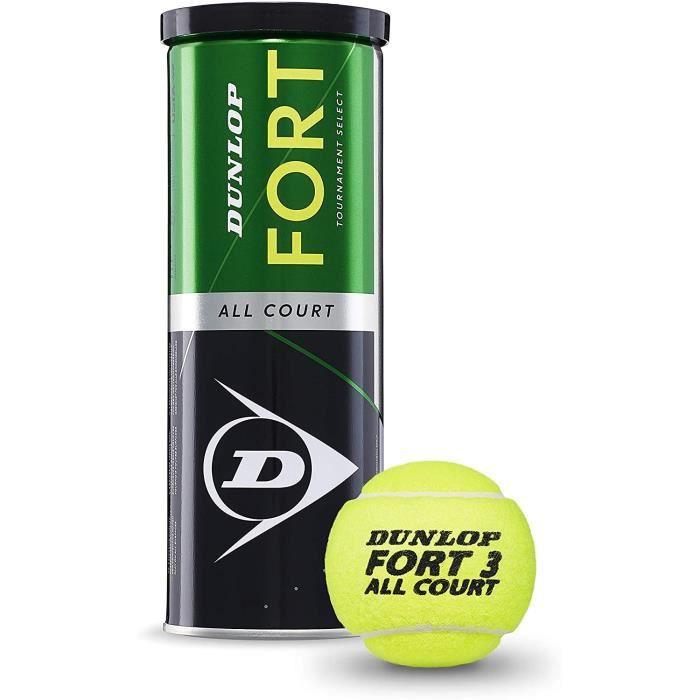 BALLE DE TENNIS DUNLOP Fort All Court TS Lot de 3 balles de Tennis160