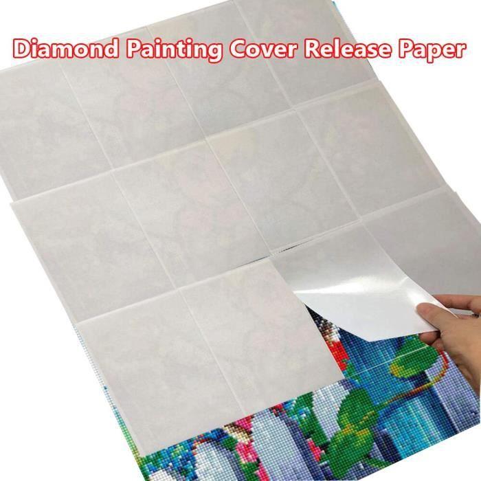 Tableau-Toile,Accessoires de peinture diamant,papier détaché,bricolage,couverture de remplacement - Type Painting Cover - 20PCS