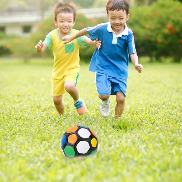 Enfants jouer en plein air entraînement taille # 2 ballon de football enfant sport match football 13 cm - 5.1 pouces couleur-COL