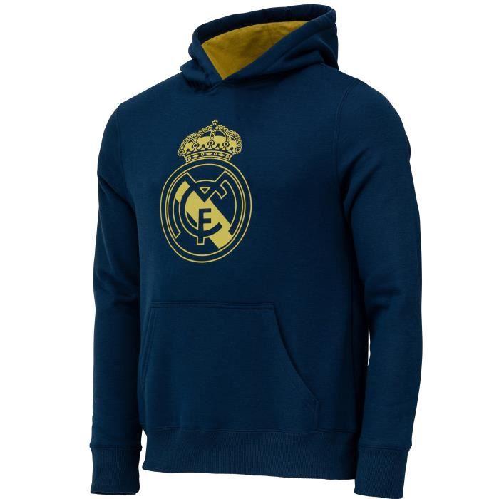 Sweat capuche Real Madrid - Collection officielle - Enfant