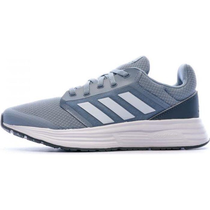Baskets running bleues femme Adidas Galaxy 5