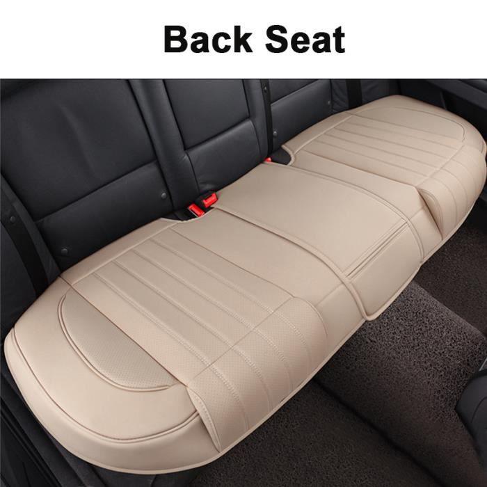 Housse de siege voiture Beige - Doux au toucher - imperméable housse de siège arrière