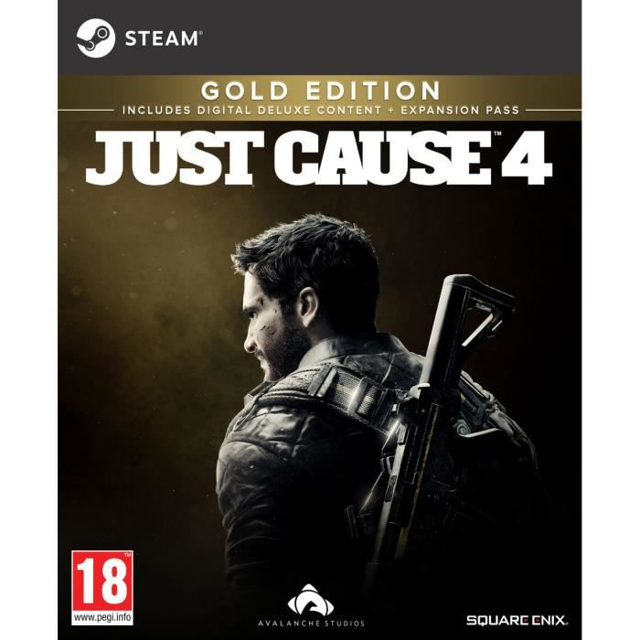 Just Cause 4 PS4 + 1 Porte Clé Offert + 1 Led Skin
