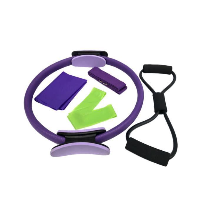 1 ensemble / 5 pièces accessoires de Yoga extracteur d'anneau durable cerceau d'exercice CEINTURE DE FORCE - CEINTURE DE SOUTIEN