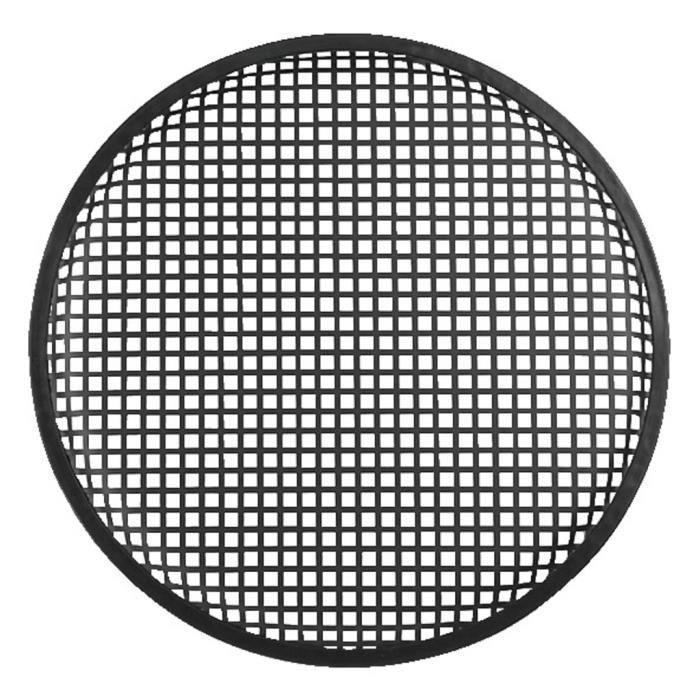 Grille Haut-Parleur Protecteur en M/étal Homyl Grille De Protection pour Haut-Parleur Noir 10 Pouces