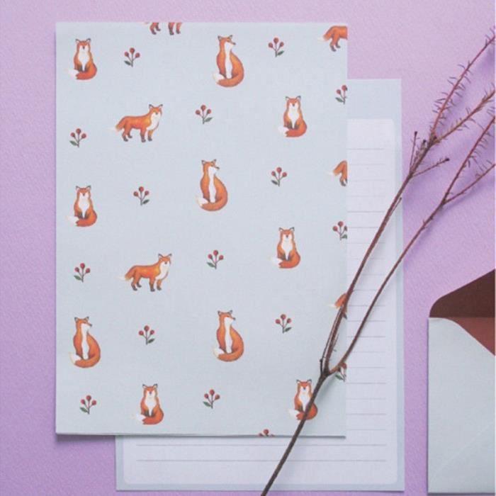 Papier A Lettres Papier A Lettres Bloc De Correspondance Enveloppes A Motifs D Animaux Ensembles De Blocs Notes Papier A Achat Vente Papier A Lettre Papier A Lettres Papier A Cdiscount