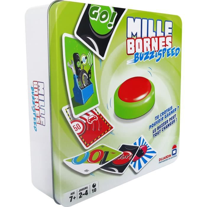 mille bornes buzz and speed coloris unique achat vente jeu soci t plateau cdiscount. Black Bedroom Furniture Sets. Home Design Ideas