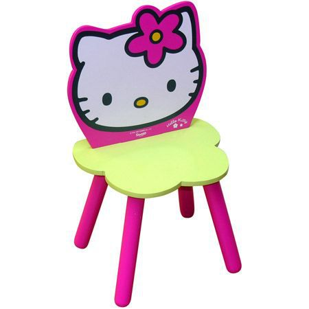 chaise fleur hello kitty achat vente chaise tabouret b b 3700057111656 cdiscount. Black Bedroom Furniture Sets. Home Design Ideas