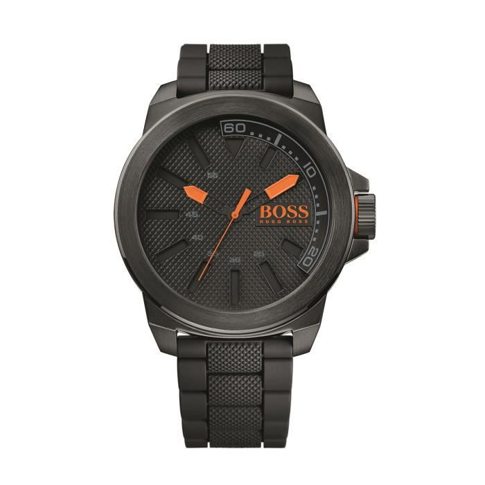 hugo boss orange montre pour homme new york 1513004 achat vente montre cdiscount. Black Bedroom Furniture Sets. Home Design Ideas