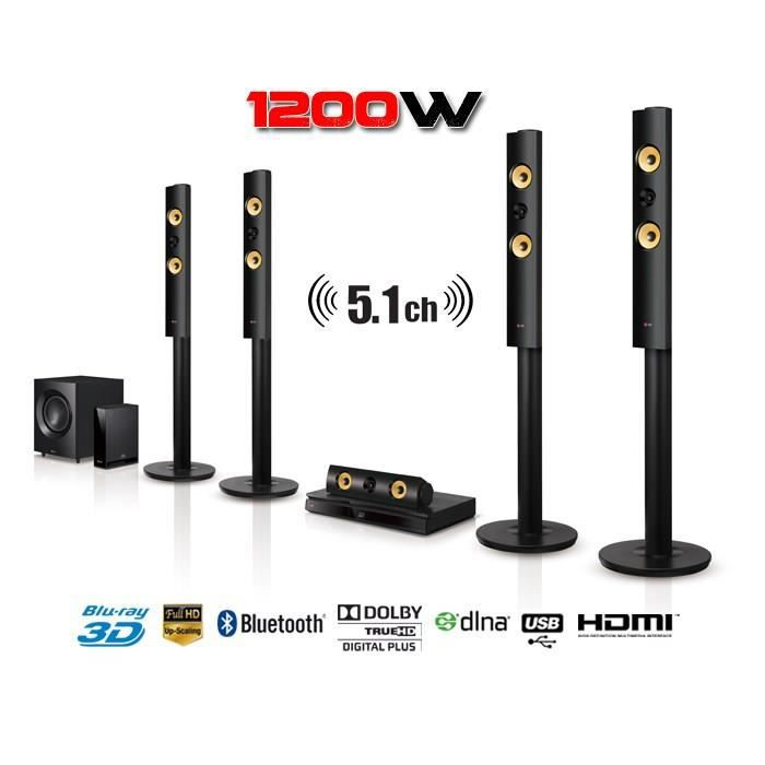 lg bh7540tw home cinema 5 1 blu ray 3d 1200w ensemble. Black Bedroom Furniture Sets. Home Design Ideas