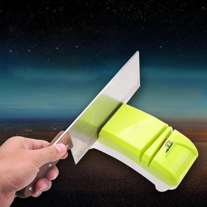 Mini aiguiseur affûteur à couteaux compact Neuf