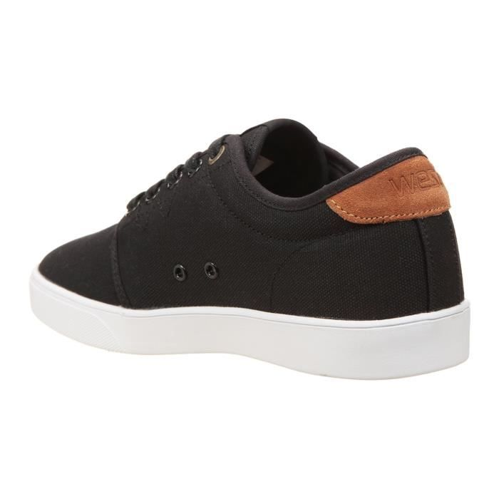 Low Chaussures Top Deck Noir Off WESC Homme 8vqzaR8w