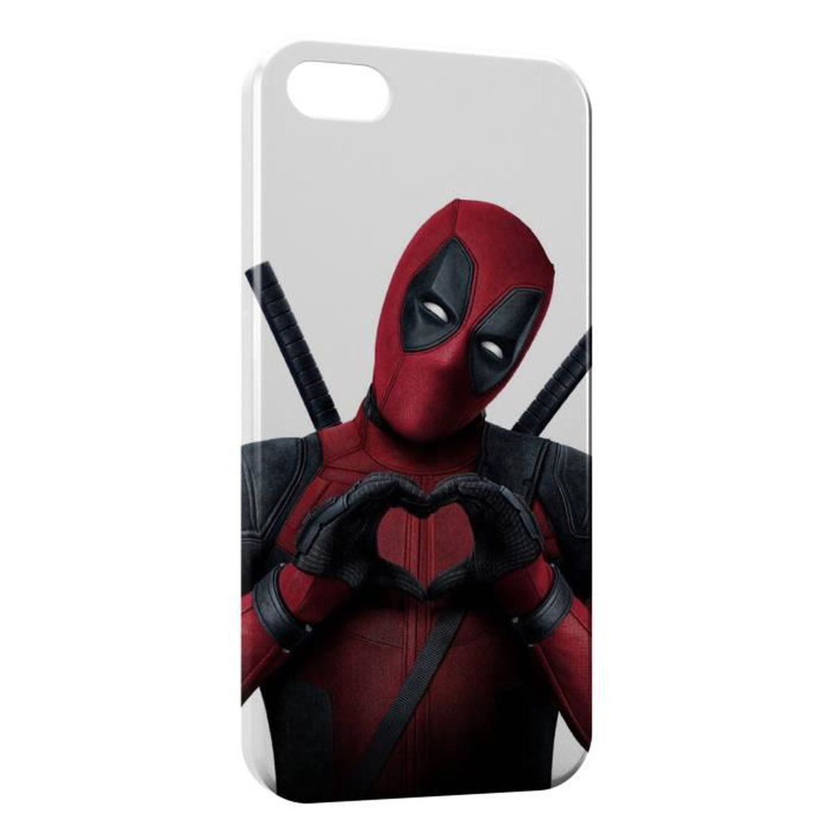 coque iphone 6 deadpool love