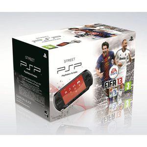 CONSOLE PSP PACK PSP STREET NOIRE + FIFA 13