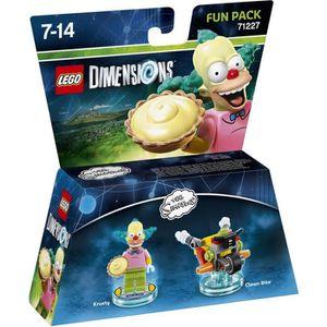 FIGURINE DE JEU Figurine LEGO Dimensions - Krusty le Clown - Les S