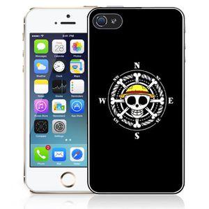 coque iphone 4 4s one piece logo boussole acces