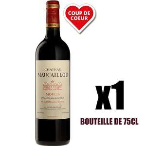 VIN ROUGE X1 Château Maucaillou 2016 75 cl AOC Moulis-en-Méd