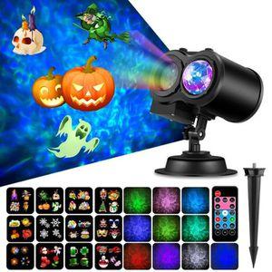 PROJECTEUR LASER NOËL Projecteur Laser Exterieur Pour Halloween Noël fêt