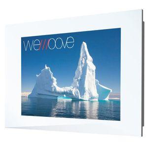 Téléviseur LED TV Cadre Blanc ICEBERG 21.5'' Etanche (waterproof)