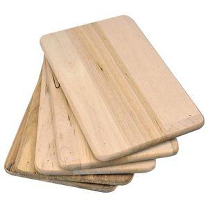 PIÈCE PETIT DÉJEUNER  Lot de 5 Planches en Bois pour petit déjeuner