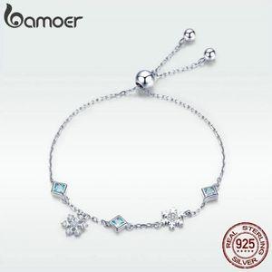BRACELET - GOURMETTE Bracelet Argent 925 Femme Pandora Style Ziron Plaq