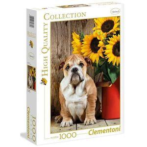 PUZZLE PUZZLE 1000 pièces - Le bulldog