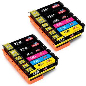 CARTOUCHE IMPRIMANTE Compatible Epson 33 XL Cartouche d'Encre pour Epso