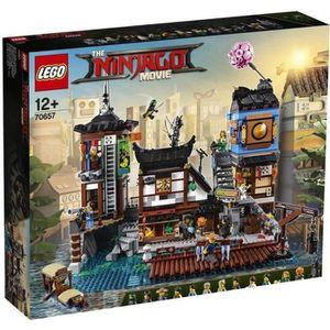 ASSEMBLAGE CONSTRUCTION LEGO® NINJAGO® LE FILM™ 70657 Les Quais de La Vill