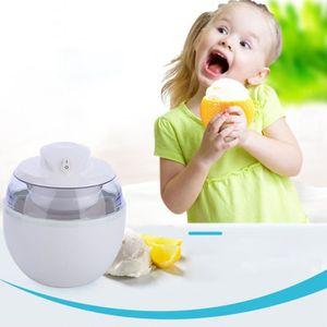 COUPELLE - COUPE GLACE Mini Machine à glace blanche domestique pour Enfan