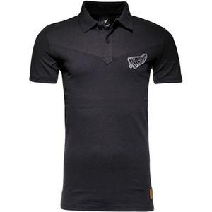 MAILLOT DE RUGBY ALL BLACKS Polo de rugby 16TH - Noir