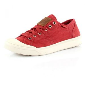 BASKET PALLADIUM Baskets Pallarue LC - Homme - Rouge briq