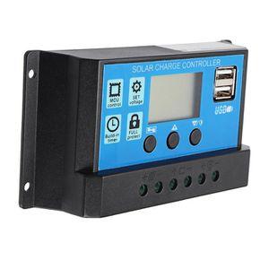 KIT PHOTOVOLTAIQUE TEMPSA LCD Régulateur solaire contrôleur pour char