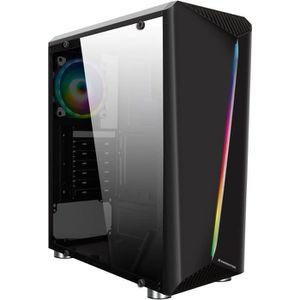 BOITIER PC  XIGMATEK EDEN III (RGB) - Boitiser sans alimentati