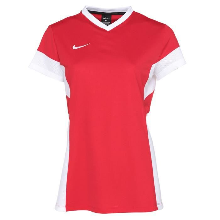 Nike Maillot Academy14 Femme Rouge Prix Pas Cher Cdiscount