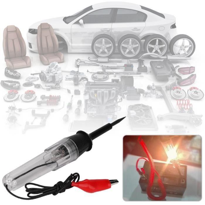 6-12-24V voiture auto test de tension électrique stylo lampe testeur de circuit sonde de détecteur-TIM