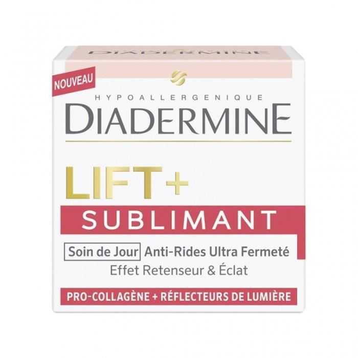 DIADERMINE Lift + Sublimant Soin de Jour Anti-Rides Ultra Fermeté 50ml (lot de 2)