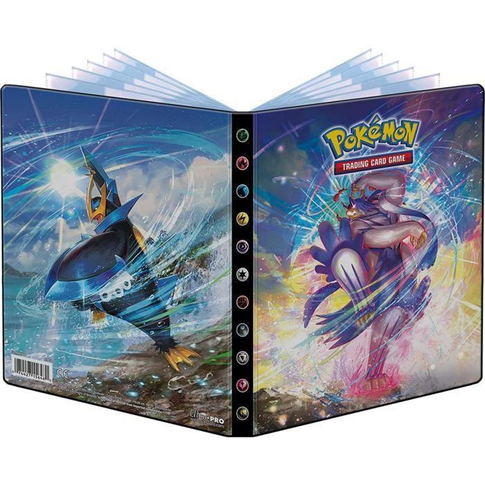 Portfolio A5 Pokemon : Pingoleon Et Shifours Gigamax Mille Poings - Cahier Range Cartes Pokemon - 80 Cartes