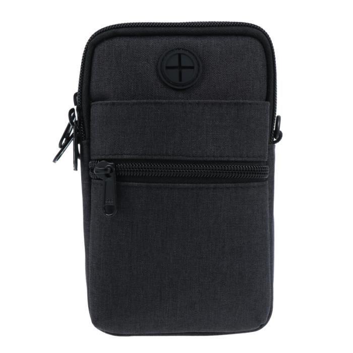 1 pc pochette pour téléphone portable à bandoulière sac de rangement à pour Ourdoors écouteurs SPORT BAG