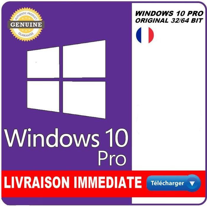 Windows 10 PRO Version Téléchargeable