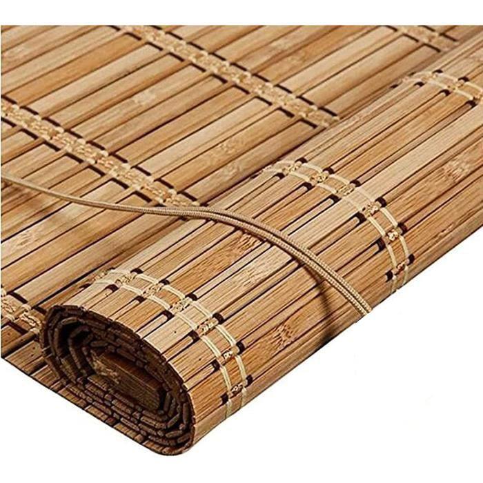 Store Bambou Exterieur, Store Fenetre Occultant, Isolation Thermique, Store Venitien Bois, Rideau Exterieur Terrasse, Rideau de 317