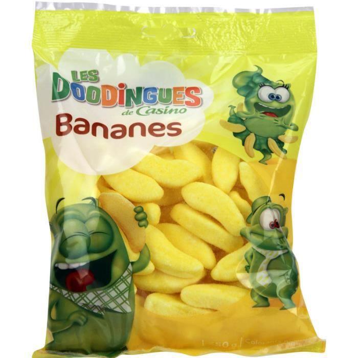CASINO Les Doodingues Bananes 250g