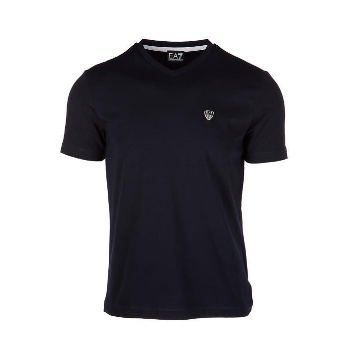 T-shirt manches courtes col en v homme Emporio Armani EA7