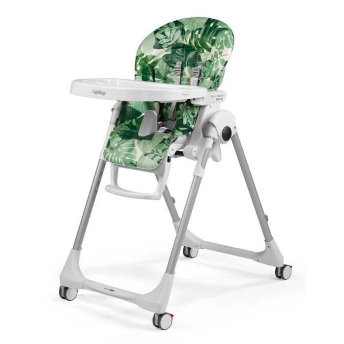 Ensemble table et chaise bebe Peg Perego Prima Pappa Follow Me Foliage