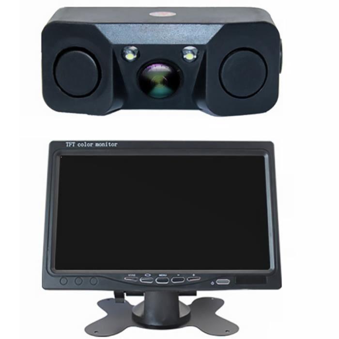 1 Set Durable Utile Pratique Professionnel Écran D'affichage AHD Caméra De Recul Intelligent RADAR DE RECUL - CAMERA DE RECUL