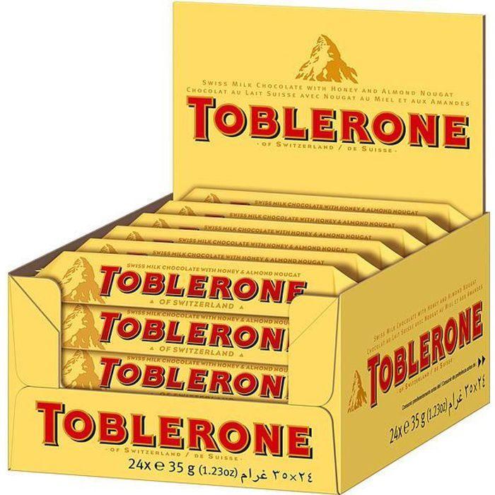 Toblerone Barres 24 x 35g